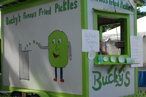 Bucky's Fried Pickles