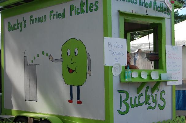 Bucky's Fried Pickles